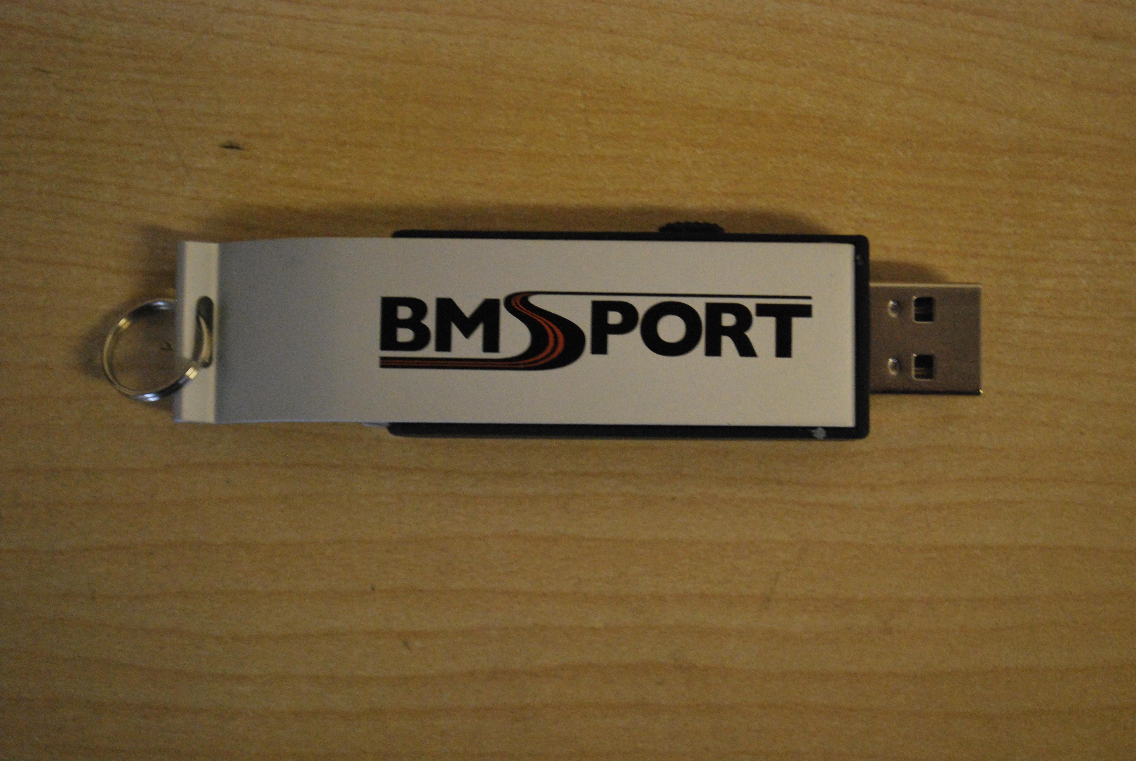 BMSport Logo 2GB Memory stick